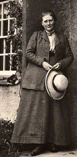 NPG P1825; Beatrix Potter (Mrs Heelis) by Charles King